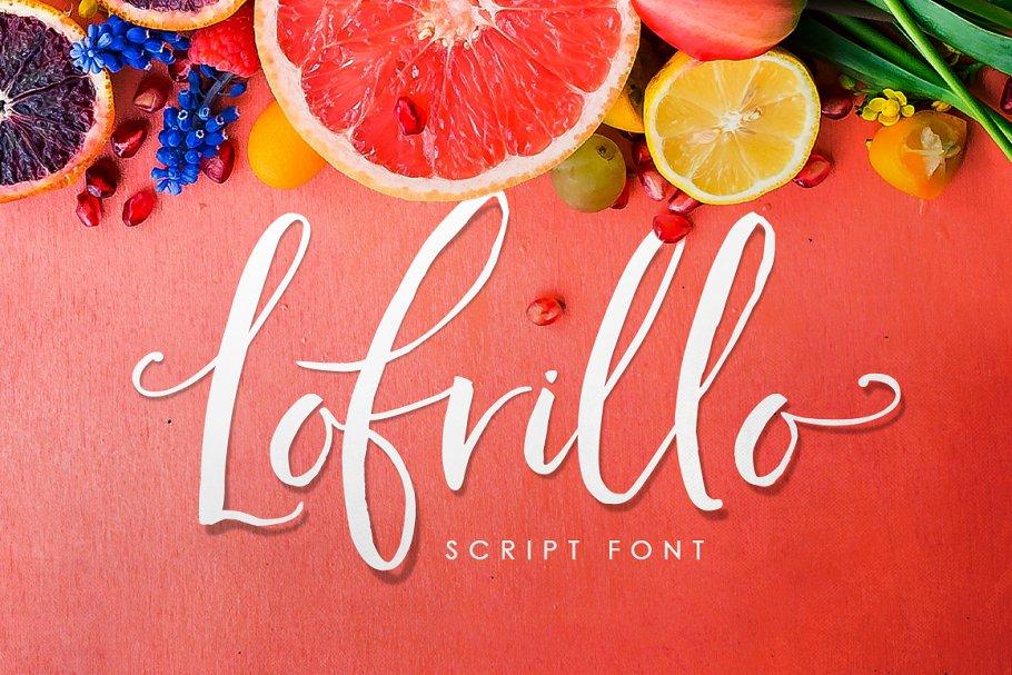 Lofrillo Script Font