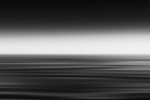 Horizontal vivid vibrant fresh black and white ocean landscape m
