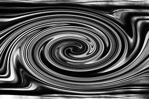 Liquid metal robotic futuristic twirl swirl horizontal texture