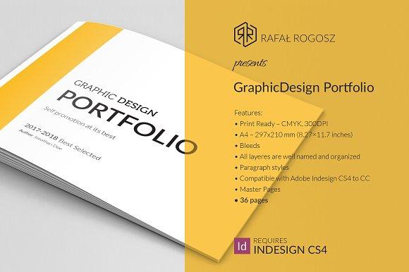 Graphic Design Portfolio Brocure A4