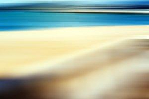Vertical border beach abstraction