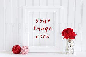 Styled Stock Photo - Photo Frame
