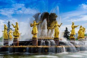VDNKh statues