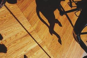 Floor of Merry Go Round