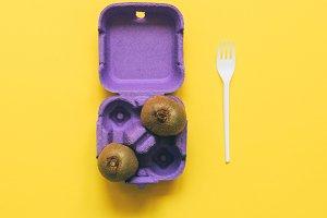 fruit in a purple box