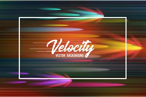 Velocity vector background 10. Speed movement pattern design. High speed and Hi-tech abstract technology concept