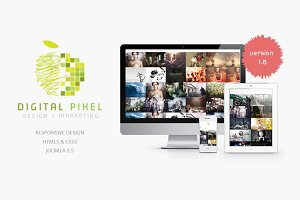 Digital Pixel -Responsive J2.5 Theme