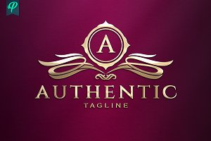 Authentic - Classy Vintage Logo