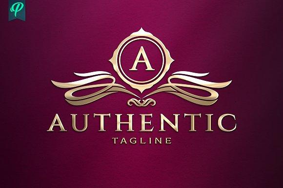 Authentic Classy Vintage Logo