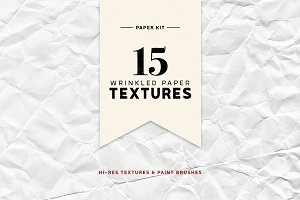 Folded Paper Textures Kit