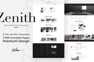 Zenith Website PSD Builder