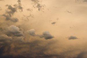 Eerie Storm Clouds