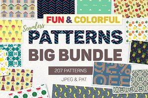 Fun & Colorful Patterns Bundle