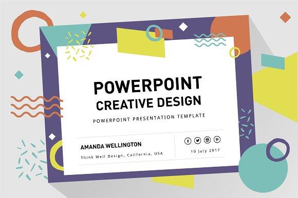 PowerPoint Creative Design Template