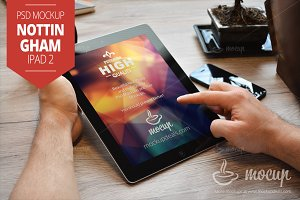 iPad 2 Mockup Nottingham