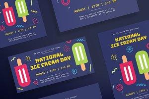 Flyers | Ice Cream Day