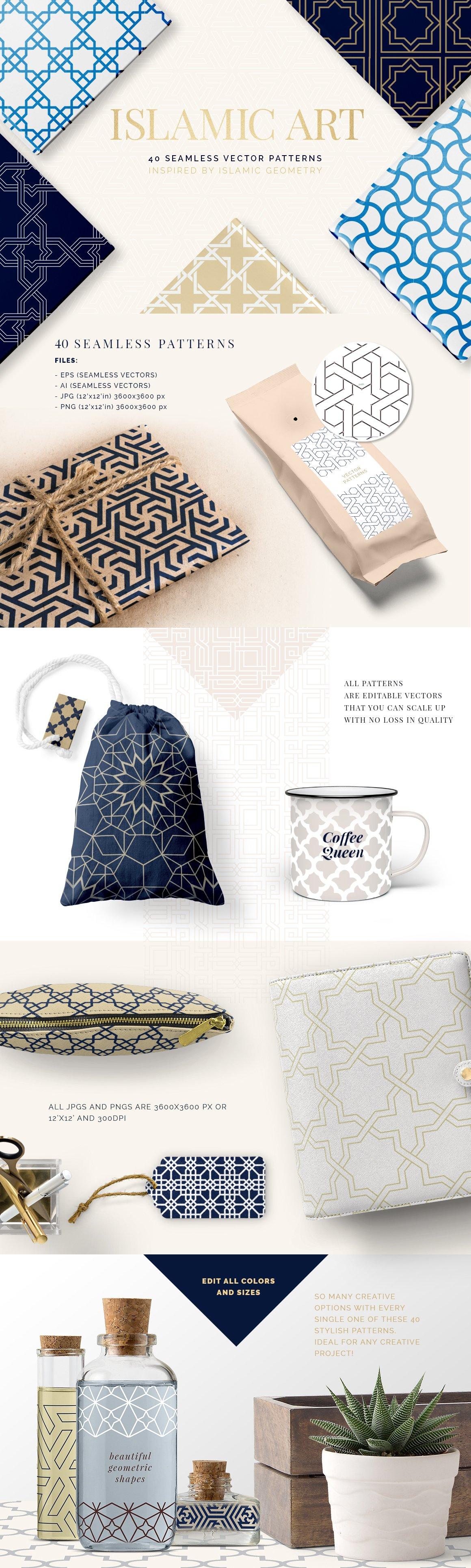 Islamic Art Vector Patterns ~ Graphic Patterns ~ Creative Market