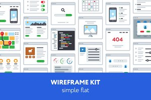UX Wireframe kit