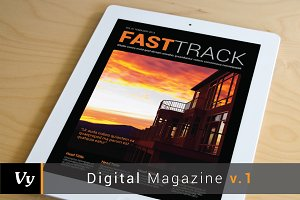 Digital Magazine Template vol. 01