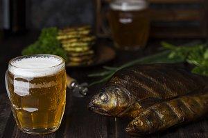smoked river fish
