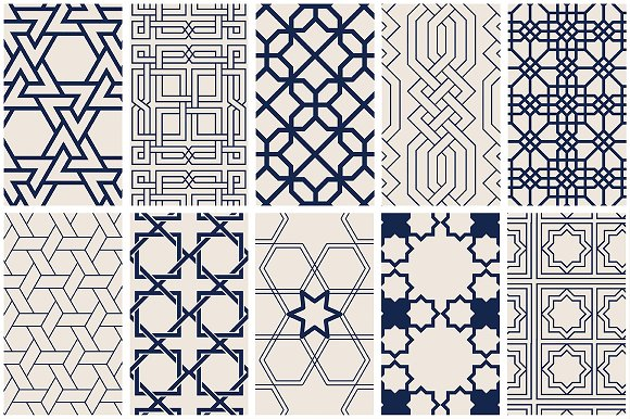 Islamic invitation vector inspirationalnew geometric islamic pattern islamic art vector patterns stopboris Images