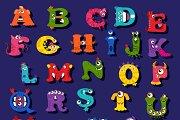 Funny alphabet for children