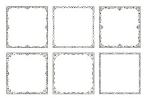 Vintage frames and borders