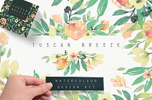 Tuscan Breeze Watercolour Design Kit