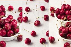 sweet cherry collage 4