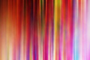 Psychedelic vivid vertical stipes