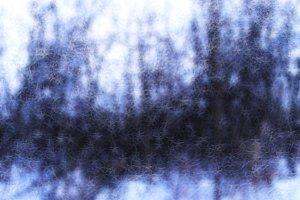 Horizontal winter snow bokeh abstraction backdrop