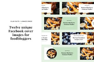 Facebook covers for foodbloggers