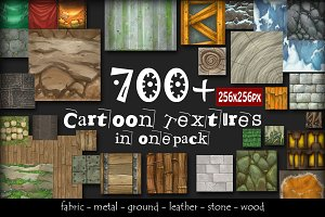 700+ Cartoon Texture set