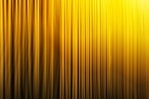 Horizontal vertical vibrant yellow curtains background backdrop