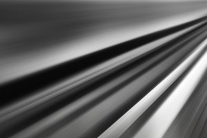 Horizontal wide vibrant black and white road to success perspect