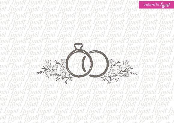 Ring Wedding Logo