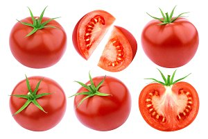 Tomato isolated isolated on white background