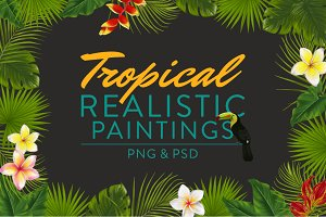 Tropical Realistic Paintings