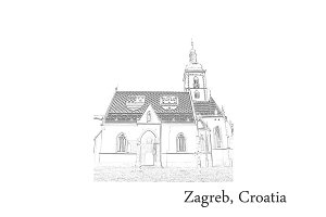 Croatia Postcards - Zagreb