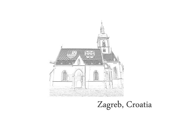 Croatia Postcards Zagreb