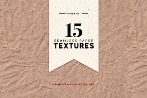 Seamless Paper Textures Kit