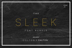 The Sleek Font Bundle