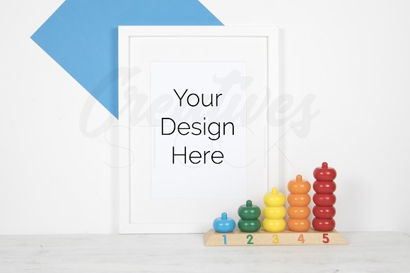 A4 Print Mock Up JPEG PSD