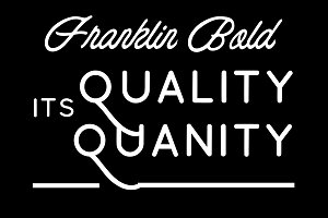 75% OFF Franklin Bold
