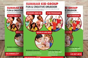 Kid Summar Flyer