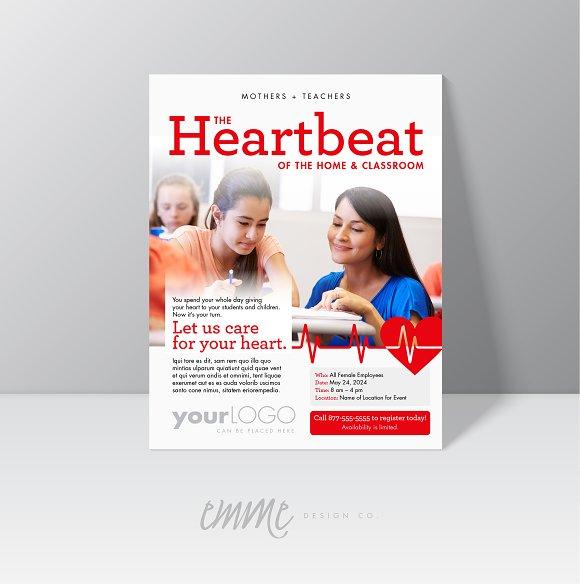 Heartbeat Flyer