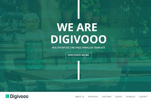 Digivooo - Responsive HTML5 WebSite