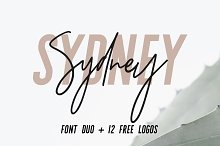by  in Logo Fonts