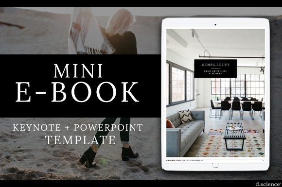 MINI EBOOK TEMPLATE SIMPLICITY #5