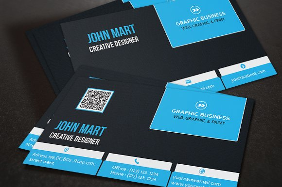 Creative Business Card v.10 - Business Cards